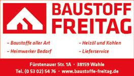 Baustoffmarkt Freitag GmbH